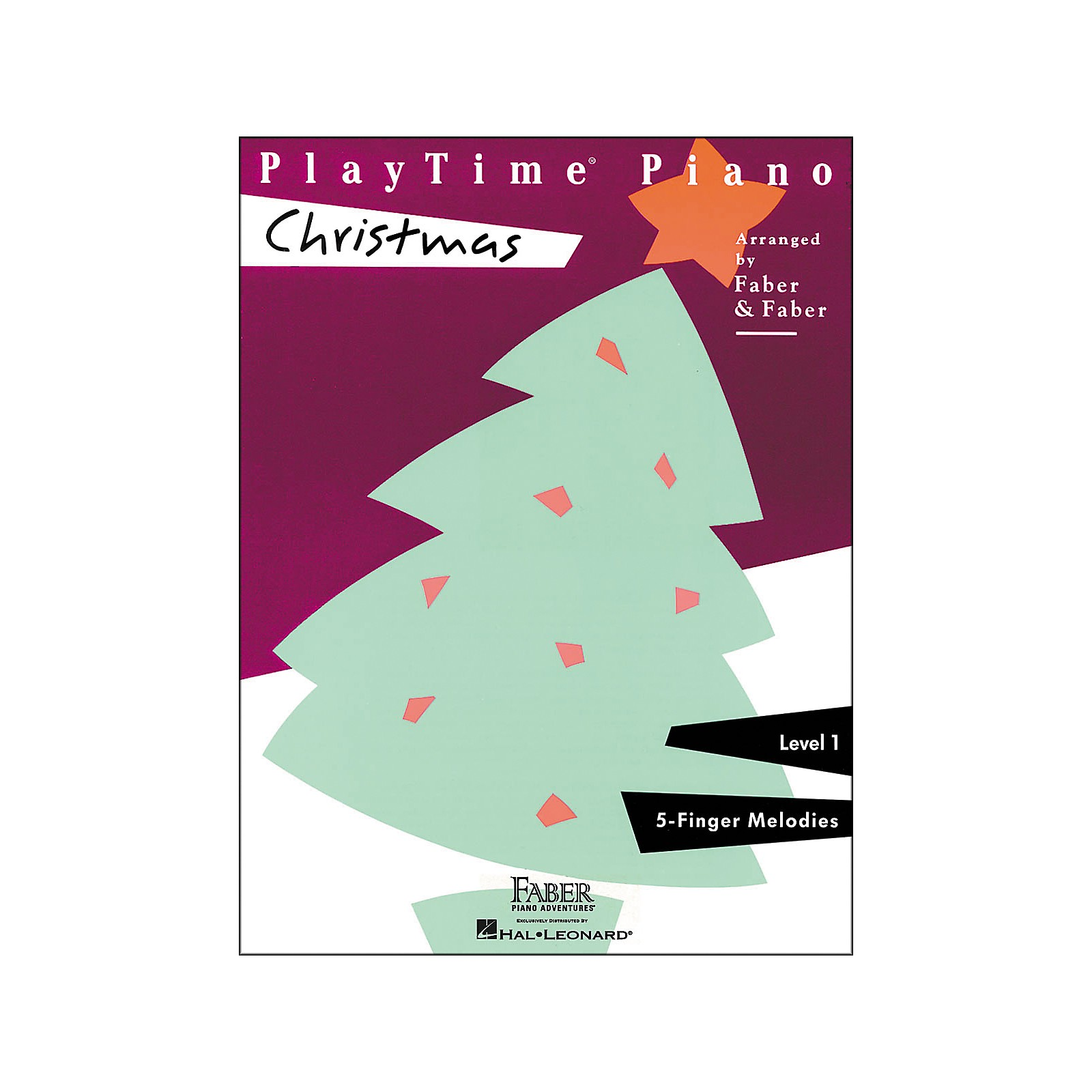 Faber Piano Adventures Playtime Piano Christmas Level 1 F-Finger Melodies - Faber Piano