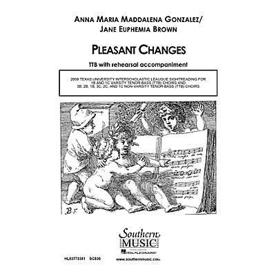 Hal Leonard Pleasant Changes (Choral Music/Octavo Secular Ttb) TTB Composed by Gonzalez, Anna Marie