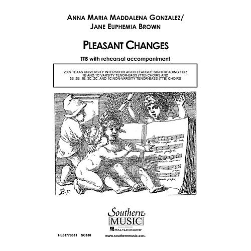 Hal Leonard Pleasant Changes (Choral Music/Octavo Secular Ttb) TTB Composed by Gonzalez, Anna Marie
