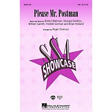 Hal Leonard Please Mr. Postman SSA arranged by Roger Emerson