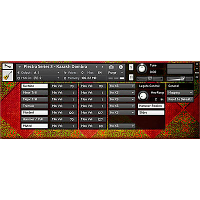 Impact Soundworks Plectra Series 3 - Kazakh Dombra (Download)