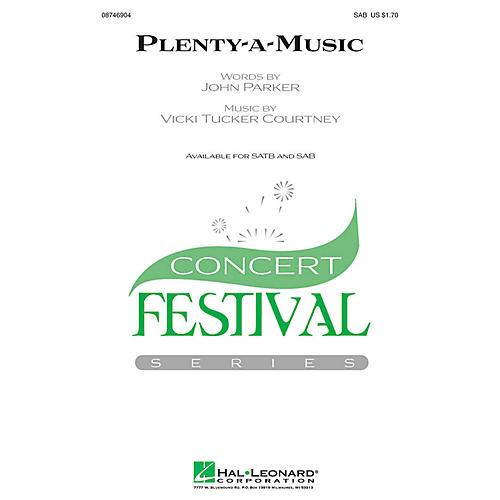 Hal Leonard Plenty-a-Music SAB composed by Vicki Tucker Courtney