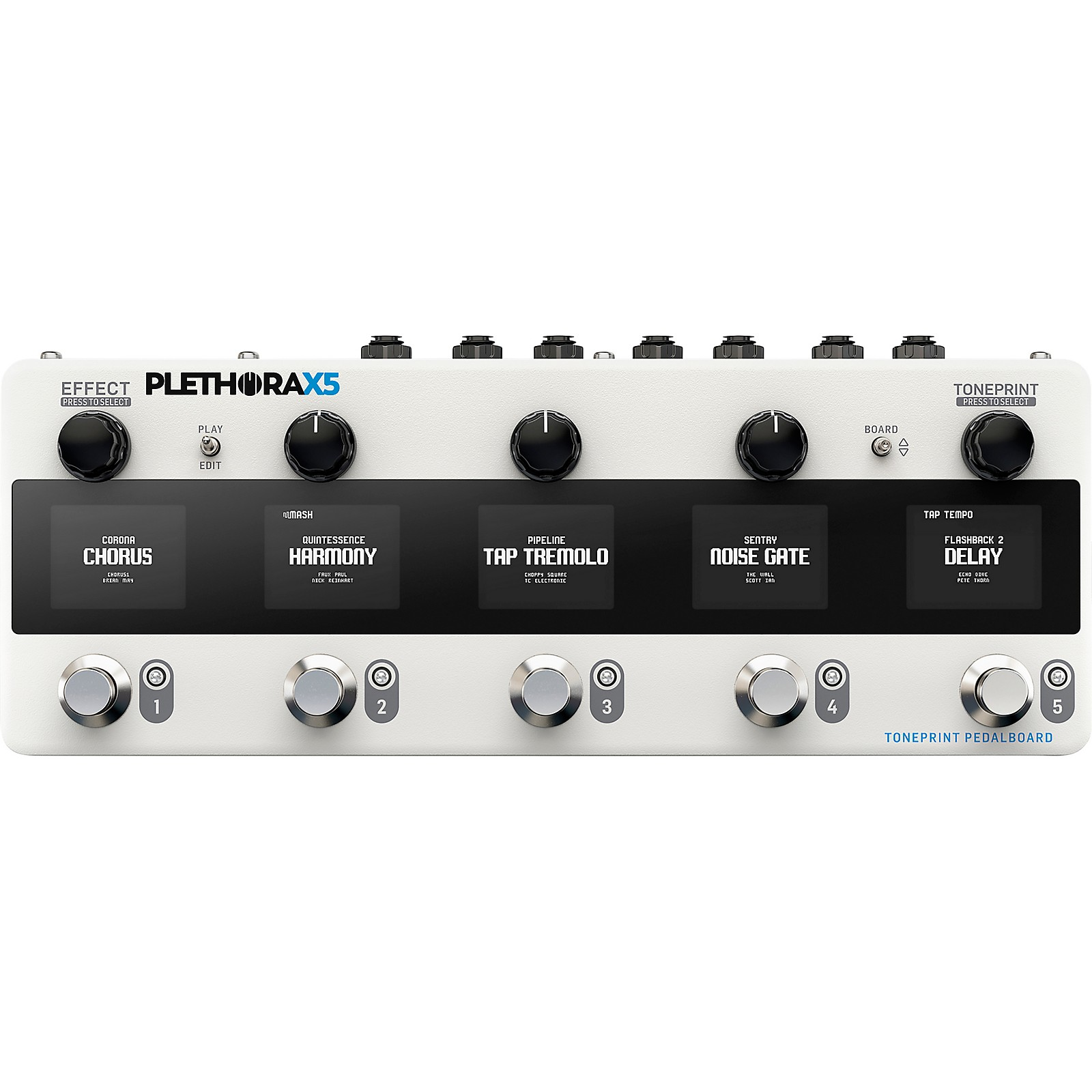 TC Electronic Plethora X5 Multi-Effects Pedal