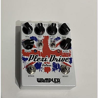 Wampler Plexi Drive Deluxe British Overdrive Effect Pedal