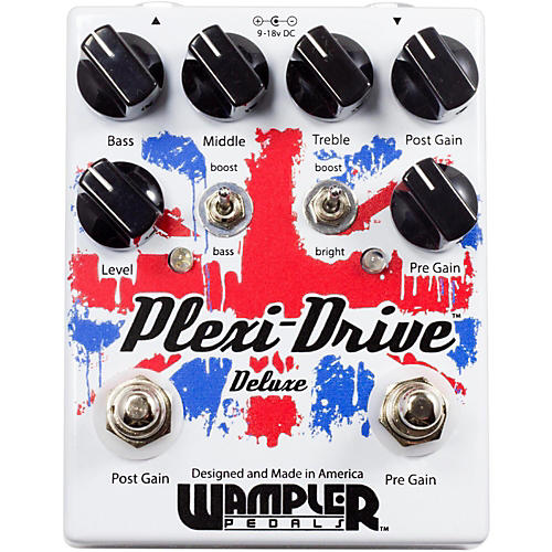 wampler plexi drive deluxe british overdrive guitar effects pedal musician 39 s friend. Black Bedroom Furniture Sets. Home Design Ideas
