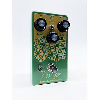 Earthquaker Devices Plumes Small Signal Shredder Overdrive Effect Pedal