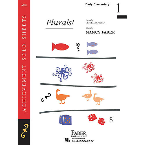 Faber Piano Adventures Plurals! (Early Elem/Level 1 Piano Solo) Faber Piano Adventures® Series by Nancy Faber