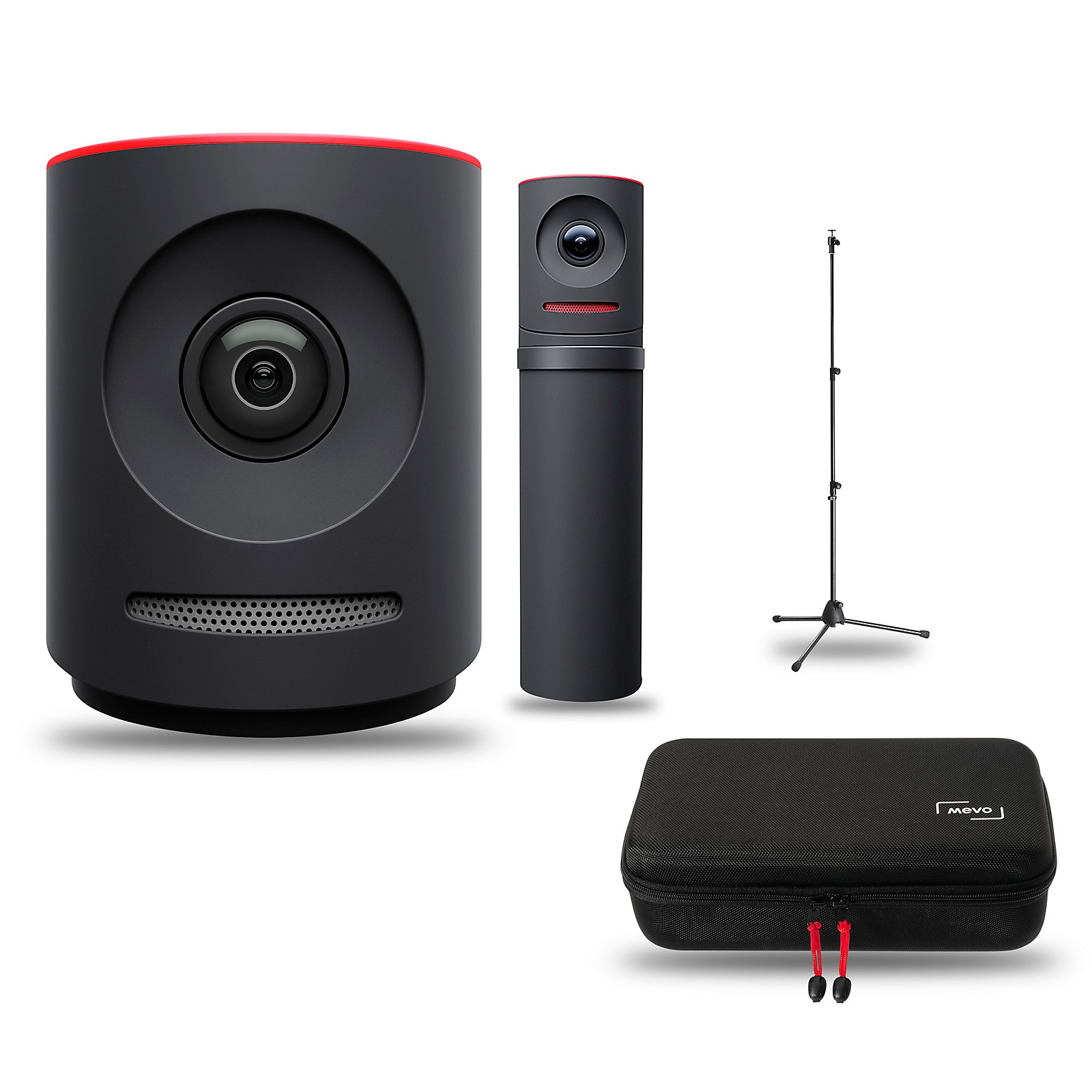 Mevo Plus Pro Bundle with Camera, Boost, Case, and Stand