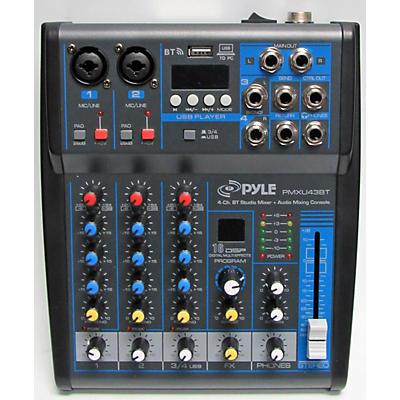 Pyle Pmxu43bt Powered Mixer