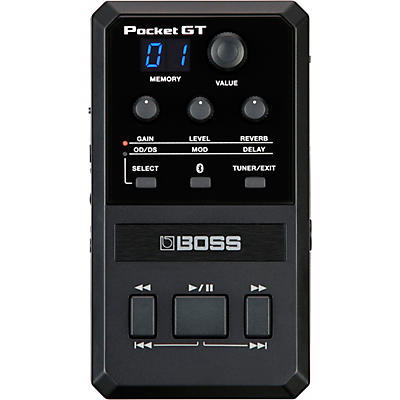Boss Pocket GT Amp & Effects Processor