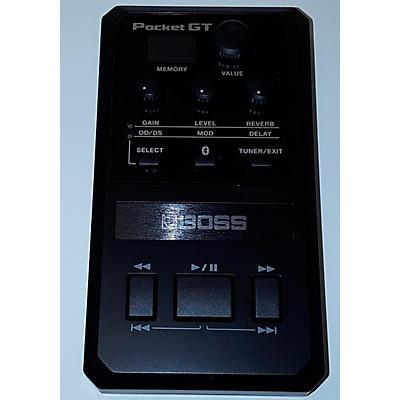 Boss Pocket GT Bass Effect Pedal