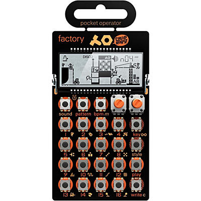 Teenage Engineering Pocket Operator - Factory PO-16