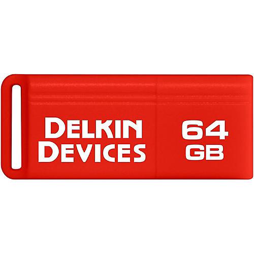 Delkin PocketFlash USB 3.0 Flash Drive 64 GB