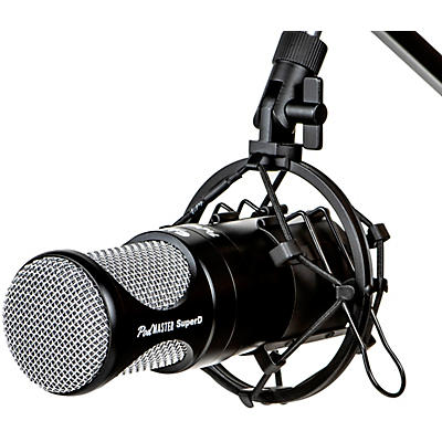 CAD PodMaster SuperD Professional Broadcast/Podcasting Microphone with SuperD Large Diaphragm Capsule