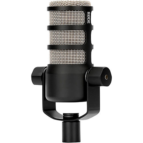rode microphones podmic dynamic podcasting microphone black musician 39 s friend. Black Bedroom Furniture Sets. Home Design Ideas