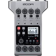 Zoom PodTrak P4 Portable Multitrack Podcast Recorder