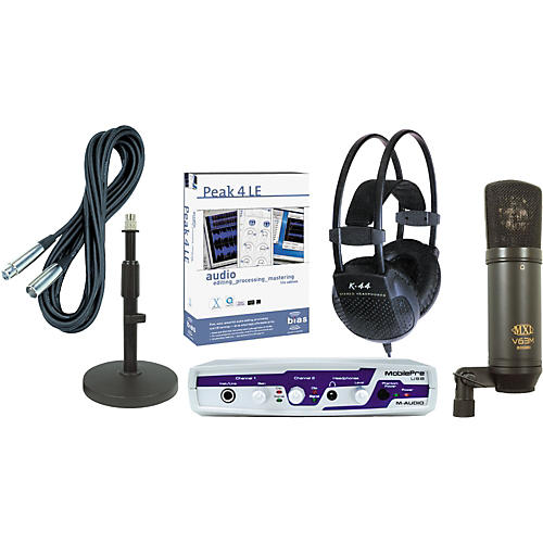 Musician's Friend Podcasting Production Kit #2 Mac