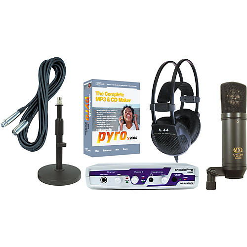 Musician's Friend Podcasting Production Kit #2 PC
