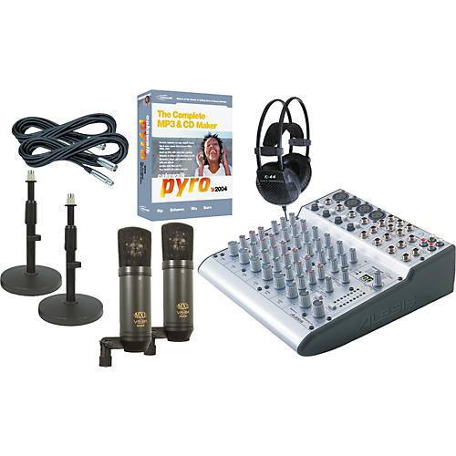 Musician's Friend Podcasting Production Kit #3 PC