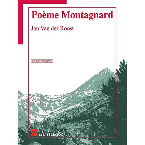 Hal Leonard Poeme Montagnard Score Only Concert Band