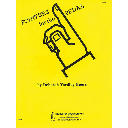 Music Sales Pointers for the Pedal Music Sales America Series Softcover Written by Deborah Yardley Beers