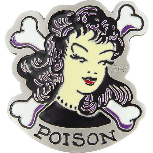 Sailor Jerry Poison Belt Buckle