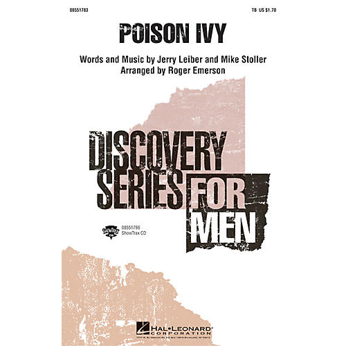 Hal Leonard Poison Ivy ShowTrax CD Arranged by Roger Emerson