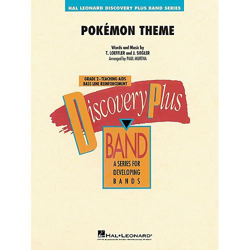 Hal Leonard Pokémon Theme - Discovery Plus Concert Band Series Level 2 arranged by Paul Murtha