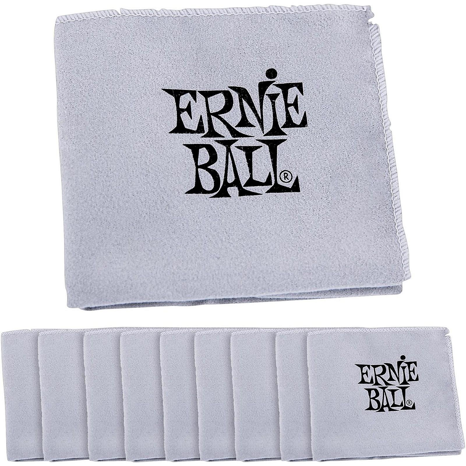 Ernie Ball Polish Cloth 10-Pack