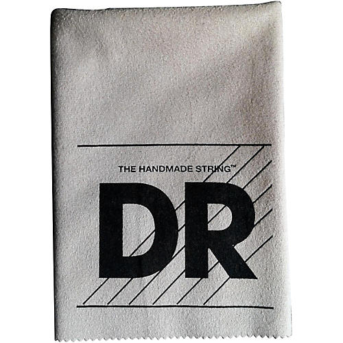 DR Strings Polish Cloth Gray