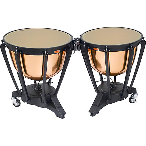 Yamaha Polished Copper Symphonic Timpani Set