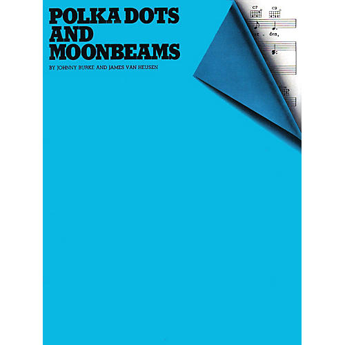 Music Sales Polka Dots and Moonbeams Music Sales America Series