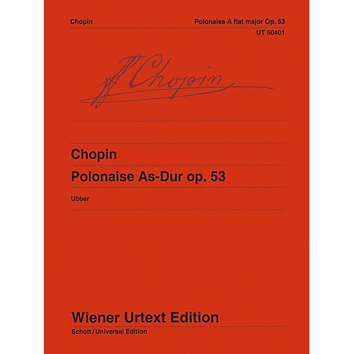 Carl Fischer Polonaise As-Dur Op. 53 - Piano