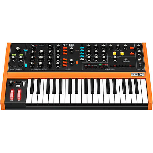behringer poly d analog polyphonic synthesizer musician 39 s friend. Black Bedroom Furniture Sets. Home Design Ideas