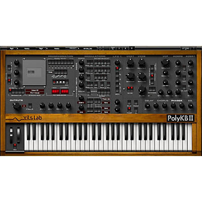 XILS lab PolyKB II Morphing Analog Synthesizer Software Download