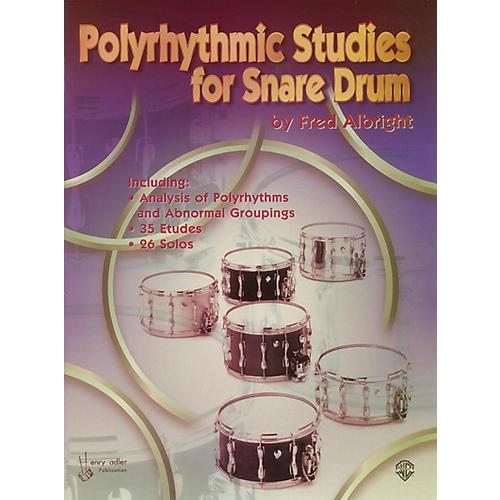 Alfred Polyrhythmic Studies for Snare Drum