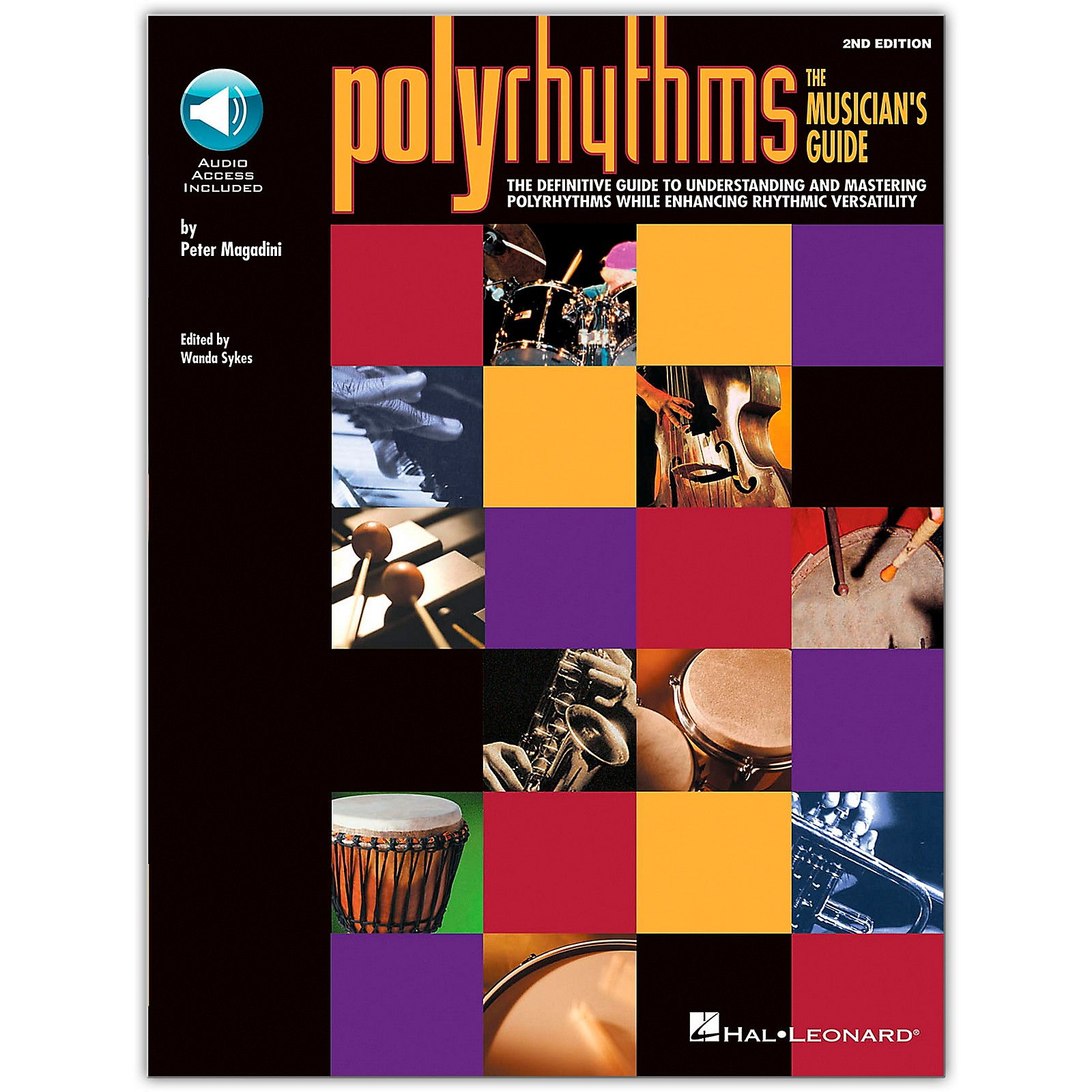 Hal Leonard Polyrhythms - The Musician's Guide Book/Online Audio
