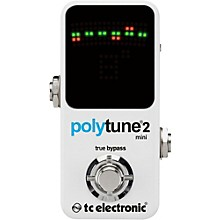 Open BoxTC Electronic Polytune Mini 2 Pedal Tuner