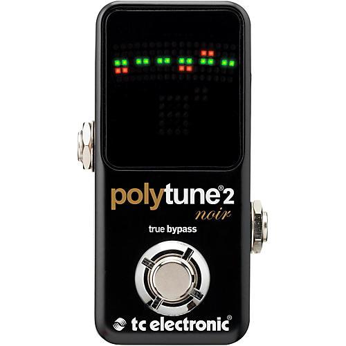 TC Electronic Polytune Noir Mini 2 Pedal Tuner