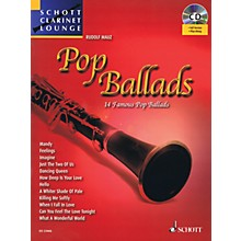 Schott Pop Ballads (Schott Clarinet Lounge) Woodwind Series BK/CD