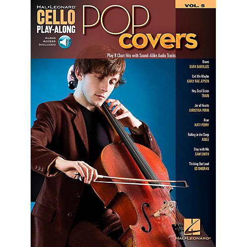 Hal Leonard Pop Covers - Cello Play-Along Volume 5 Book/Audio Online