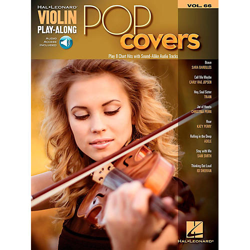 Hal Leonard Pop Covers - Violin Play-Along Volume 66 Book/Audio Online