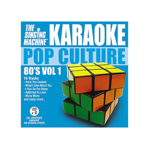 The Singing Machine Pop Culture 80's Volume 1 Karaoke CD+G
