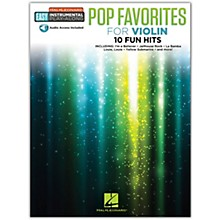 Hal Leonard Pop Favorites for Violin Easy Instrumental Play-Along Book/Audio Online