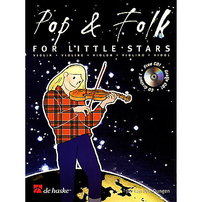 De Haske Music Pop & Folk for Little Stars De Haske Play-Along Book Series Softcover with CD
