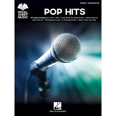 Hal Leonard Pop Hits - Vocal Sheet Music Series Songook (Singer + Piano/Guitar)