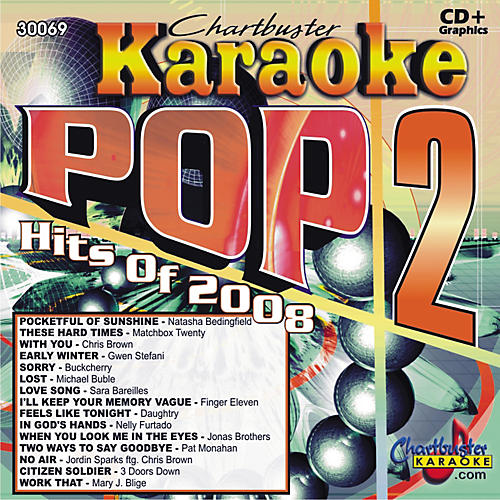 Chartbuster Karaoke Pop Hits 2008  V. 2 Karaoke CD+G