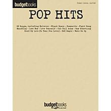 Hal Leonard Pop Hits (Budget Books) Piano/Vocal/Guitar Songbook
