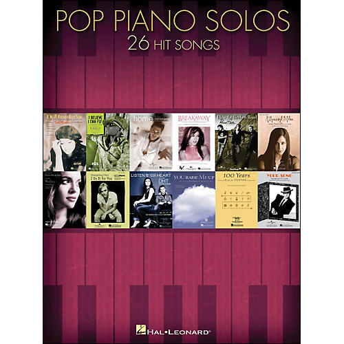 Hal Leonard Pop Piano Solos - 26 Hit Songs arranged for piano solo