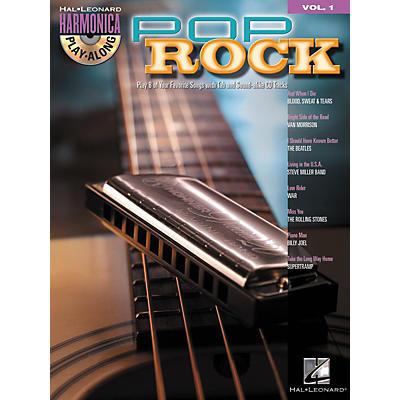 Hal Leonard Pop Rock - Harmonica Play-Along Series, Volume 1 (Book/CD)
